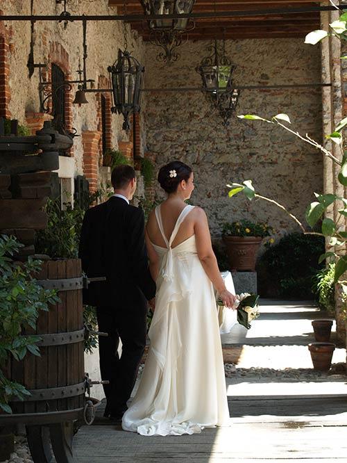 matrimonio all'Abbazia di Santo Spirito