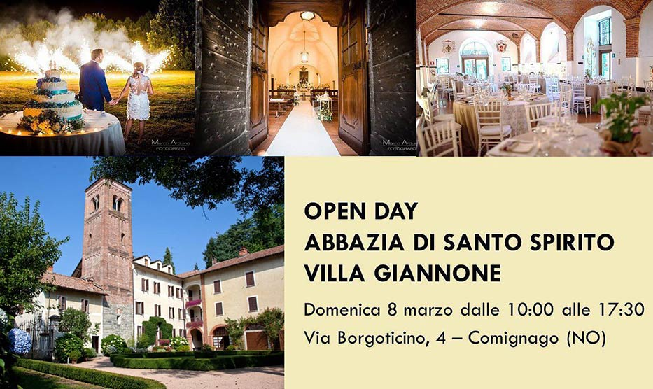 OPEN DAY Abbazia di Santo Spirito - Villa Giannone