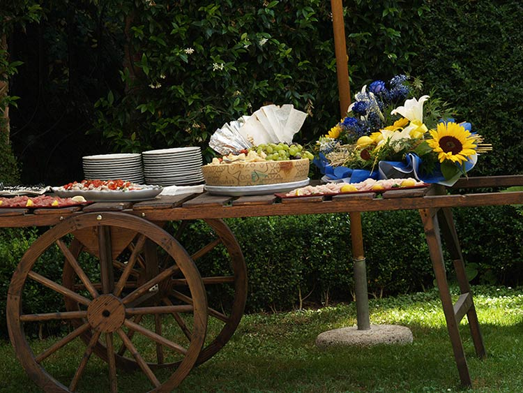 matrimonio country a Villa Giannone