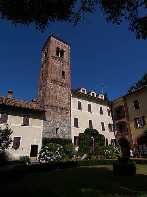 Castello per matrimonio con cappella privata