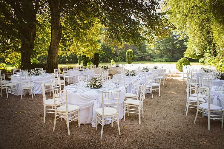 Matrimonio nel parco alla Abbazia di Santo Spirito